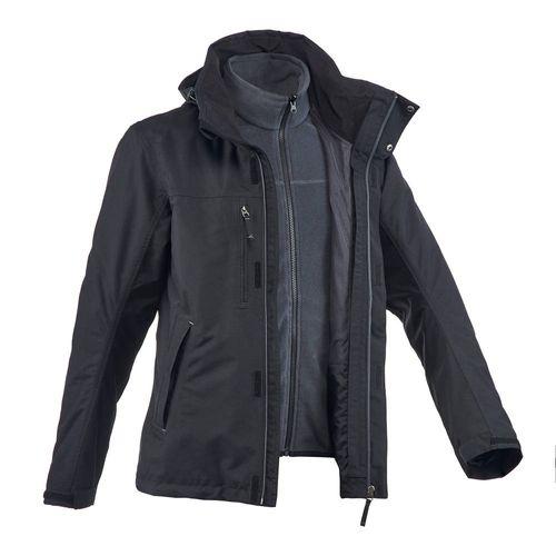 Jaqueta masculina de trekking impermeável RainWarm300 3x1 ... 83ffec62f3403