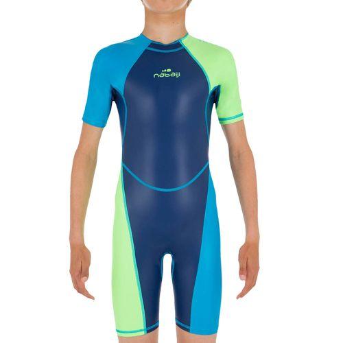 749b316a3 Macaquinho Shorty de natação infantil Kloupi Nabaiji - Decathlon