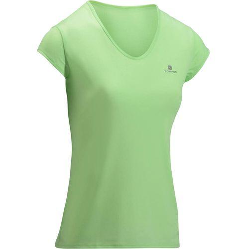 Camiseta Fitness Cardio feminina 100 Domyos - decathlonstore c36a18c66ea