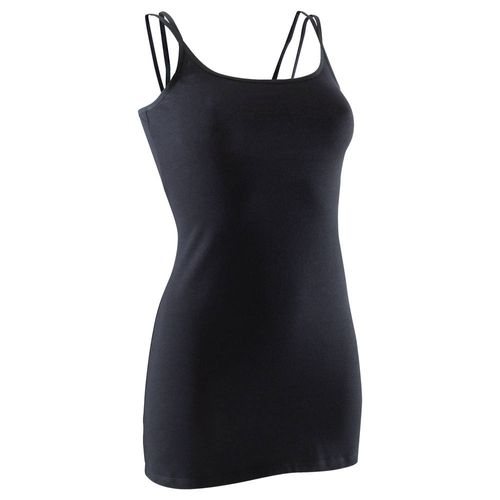 75124ecfe11ab Camiseta Regata Longa Feminina para Dança Domyos - decathlonstore
