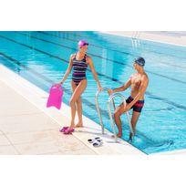 Touca de natação em malha revestida em silicone infantil Nabaiji ... b3966e751c8