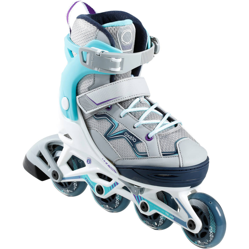 4f2e15f3a Patins in line infantil FIT 3 oxelo - DecathlonPro