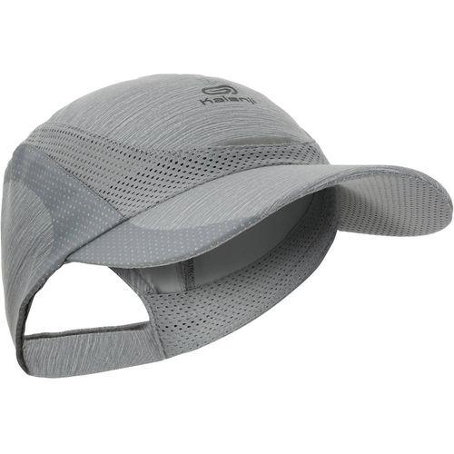 895f40a9e Boné para corrida Kalenji - RUN CAP 18 GREY