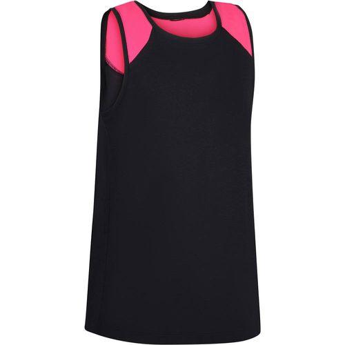 a2844b0f70154 Camiseta Regata Infantil Feminina de Fitness Domyos - decathlonstore