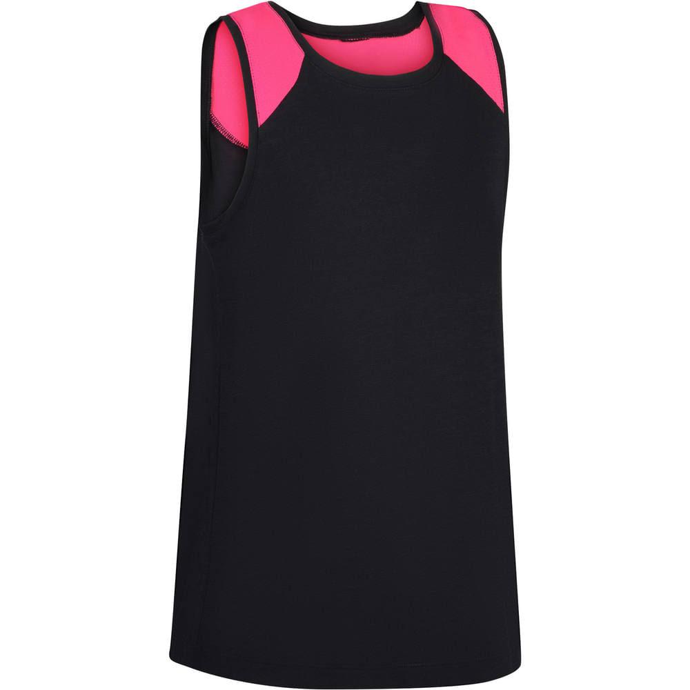 274ba00d7f04d Camiseta Regata Infantil Feminina de Fitness Domyos. Camiseta Regata  Infantil Feminina de Fitness Domyos