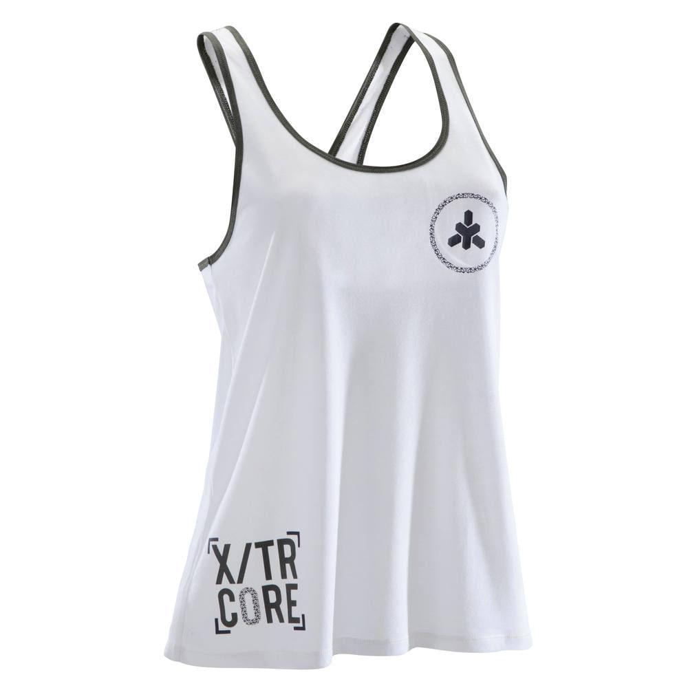 Regata Feminina Fitness Branca - Linha 500 - Domyos - decathlonpro 103073a7bdf