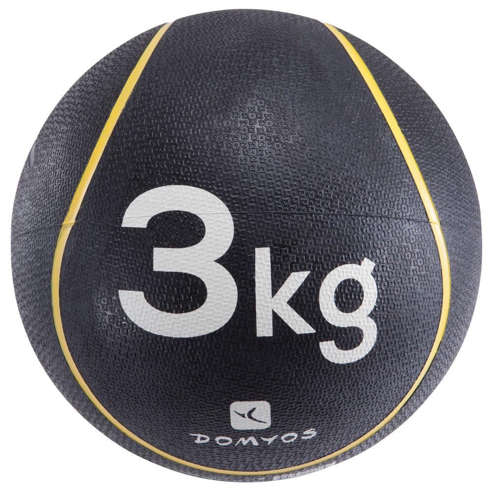 3a50014b5f BOLA MEDICINAL 3KG Domyos - MEDICINE BALL 3 KG