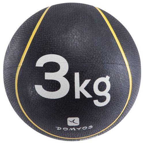 BOLA MEDICINAL 3KG - MEDICINE BALL 3 KG, 3 KG/6LBS10 OZ