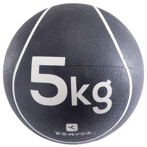 BOLA MEDICINAL 5KG - MEDICINE BALL 5 KG, 5 KG/11LBS