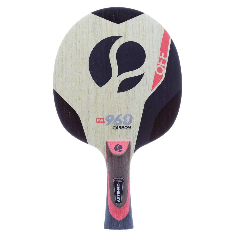 905dfd217 Madeira de Raquete de Tênis de Mesa FW 960 Off Speed Carbon Artengo.  Previous