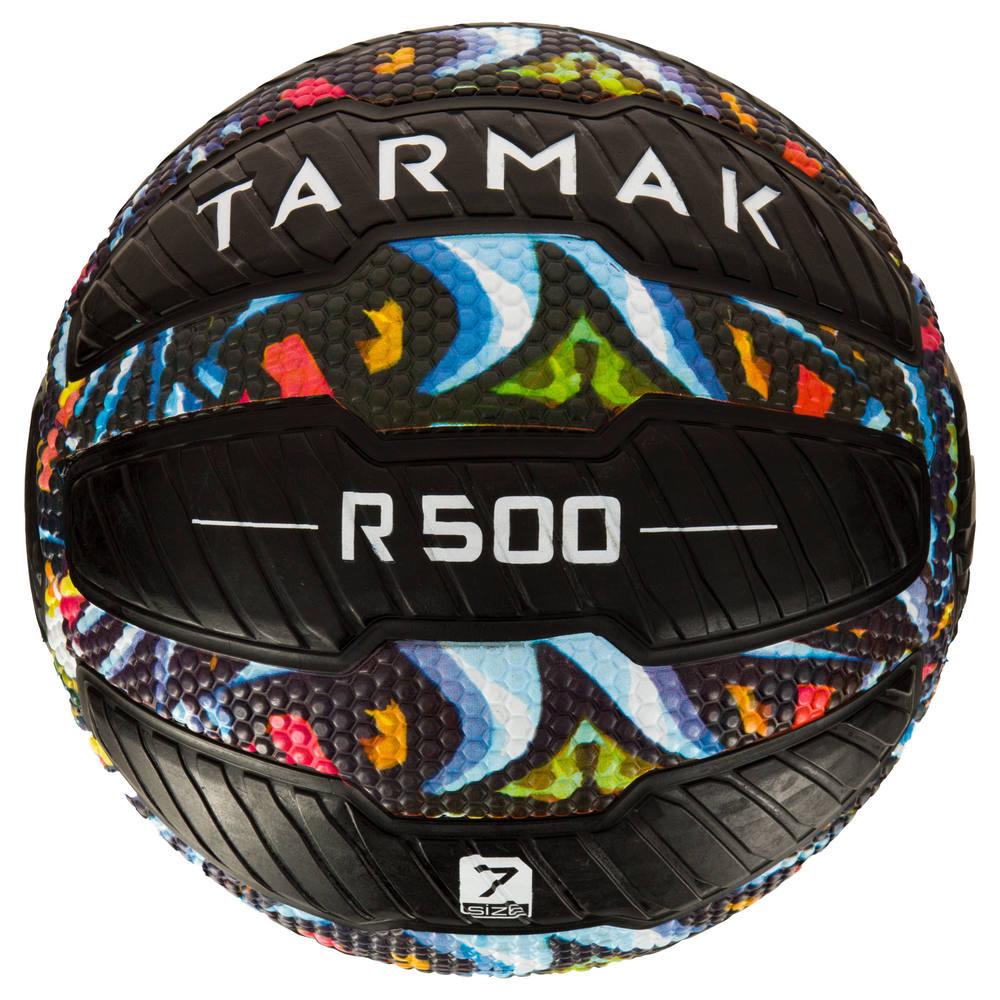 e9f4bcb29edf5 Bola de Basquete Tarmak 500 Magic Jam (Bola anti-furo) - decathlonpro