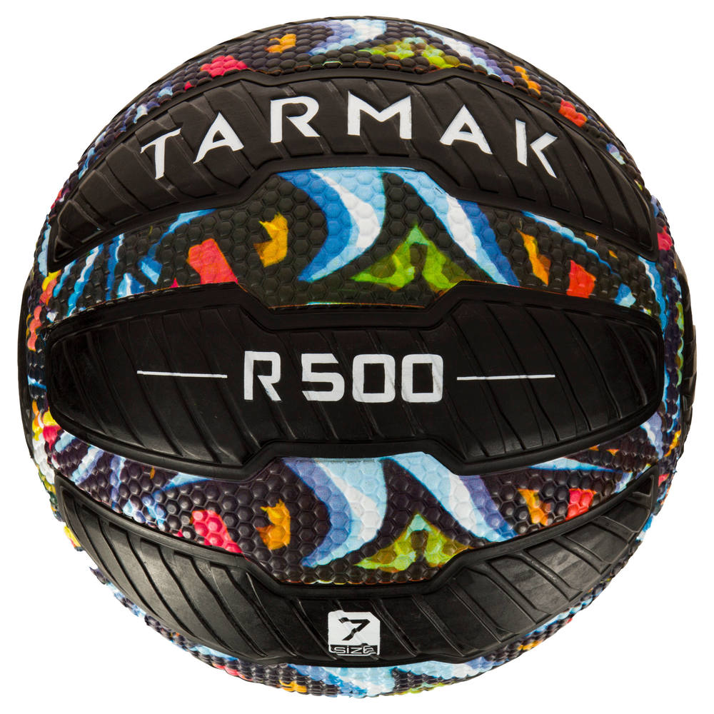 Bola de Basquete Tarmak 500 Magic Jam (Bola anti-furo) - decathlonstore 7e770c9f3ef46