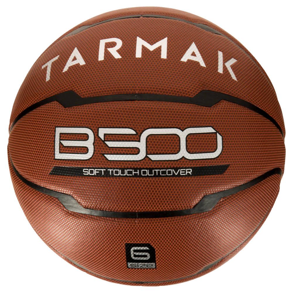 Bola de basquete B500 Tarmak (TAMANHOS 6 e 7) - Bola de basquete adulto  B500 Tarmak d272a1b39a9f8