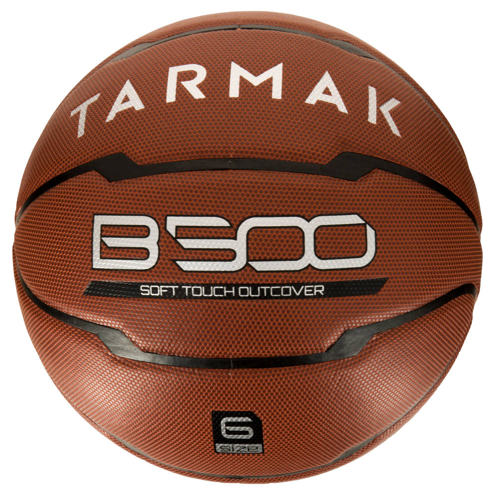 Bola de basquete B500 Tarmak (TAMANHOS 6 e 7) - Bola de basquete adulto  B500 Tarmak 07271af4a25f3