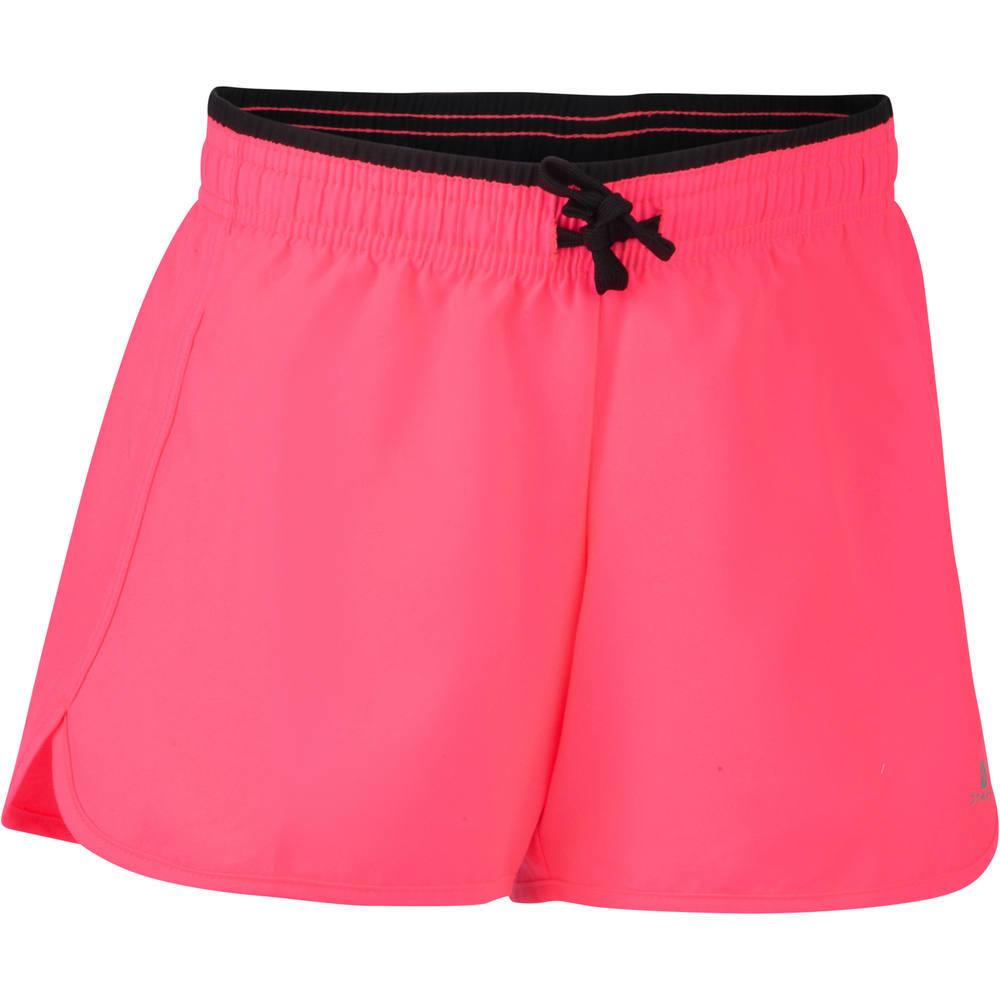 c8a2fbc54b280 Shorts infantil feminino para ginástica Domyos - decathlonstore