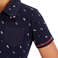 850a514f9 Camiseta Polo Manga Curta Hipismo PL140 Infantil - decathlonpro