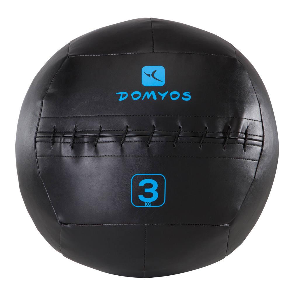 0ada9928e06cd Wall Ball 3kg Bola de Treinamento Funcional 10lbs - decathlonstore