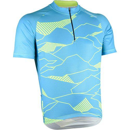 Camiseta masculina de MTB 500 Btwin -  JERSEY MTB ST 500 BLUE 9428ad200fd
