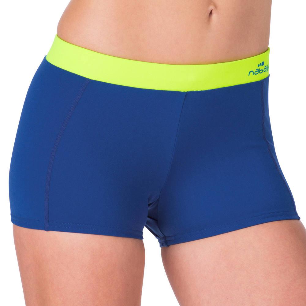 Shorts de hidroginástica aquabike feminino nabaiji. 2p-short -anna-grey-yello-uk-16--- c551440c4a706